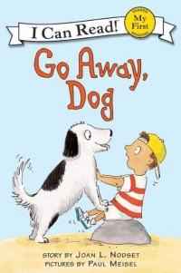 Image of go away dog